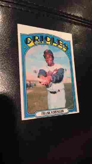 Frank Robinson 1972 Topps