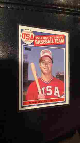 Mark McGwire 1985 Topps Olympic RC
