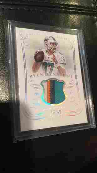 Ryan Tannehill national treasures 4 color patch