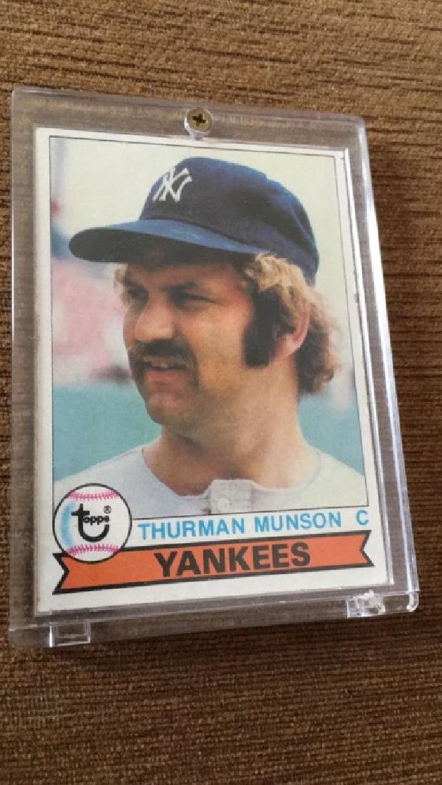 Thurman Munson 1979 Topps