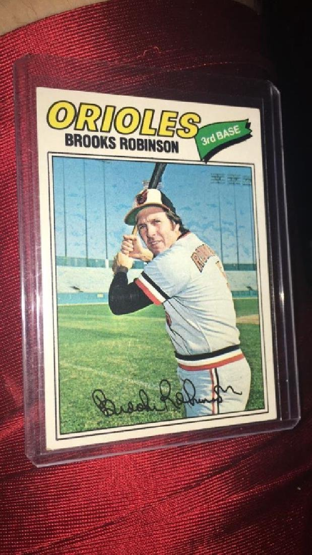 Brooks Robinson 1977 Topps