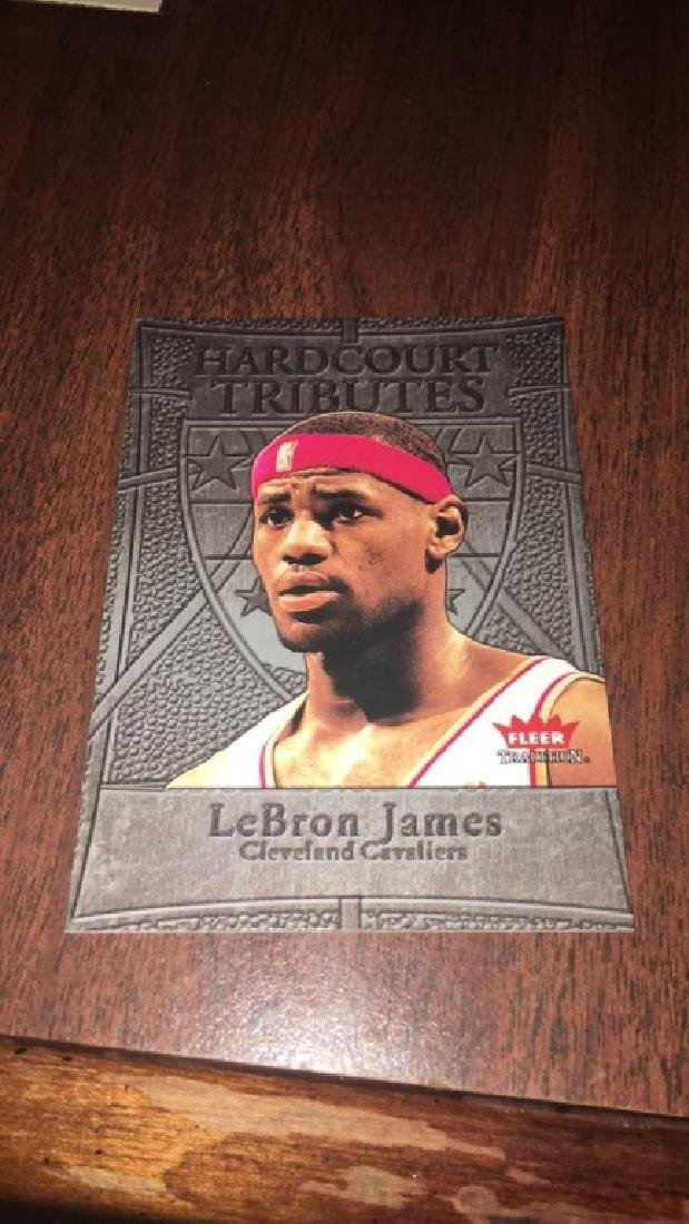 LeBron James fleer tradition 2004 Hardcourt