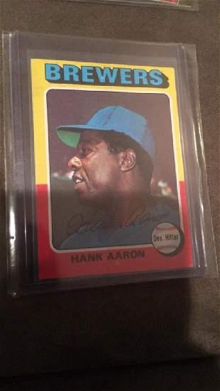 1975 tops Hank Aaron