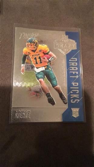 Carson Wentz 2016 Prestige draft pick rookie