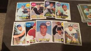 1969 tops a lot of nine cards