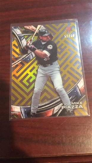 Mike Piazza Topps Tek so 60 gold