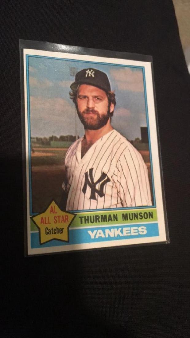 Thurman Munson 1976 Topps