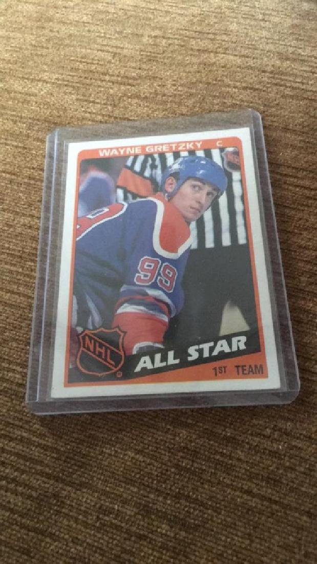 Wayne Gretzky 1984 tops all star