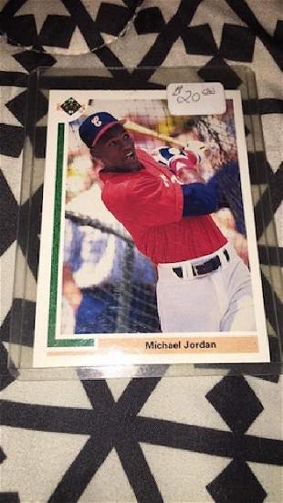 Michael Jordan 1991 upperdeck SP