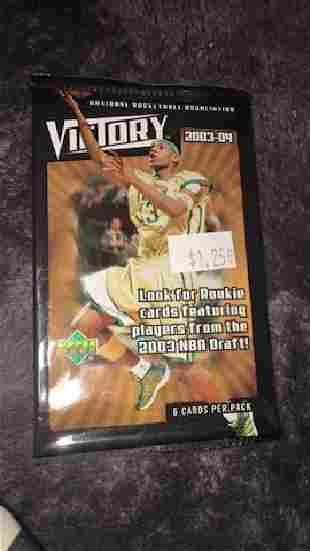 200304 uD victory basketball unopened pack