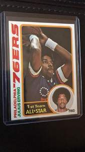 Julius Erving 1978 Topps #130