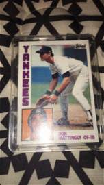 Don Mattingly 1984 tops rookie card