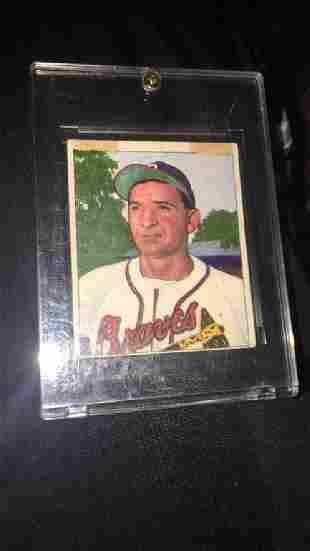 Sid Gordon 1950 Bowman