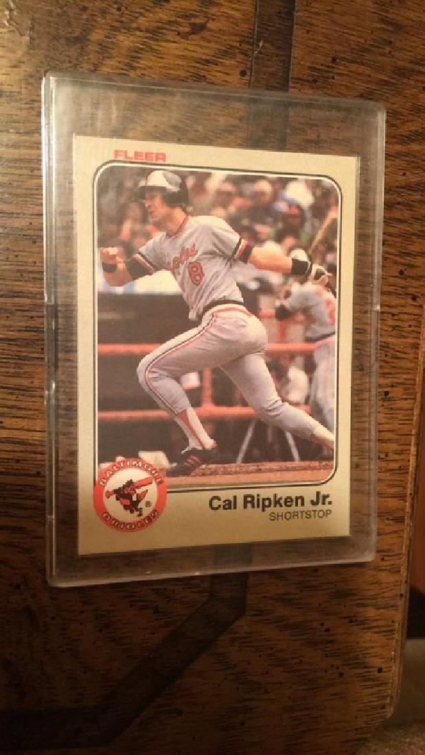 Cal Ripken Jr 1983 fleer