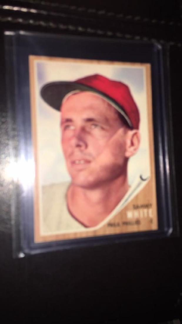 Sammy white 1962 Topps hi #