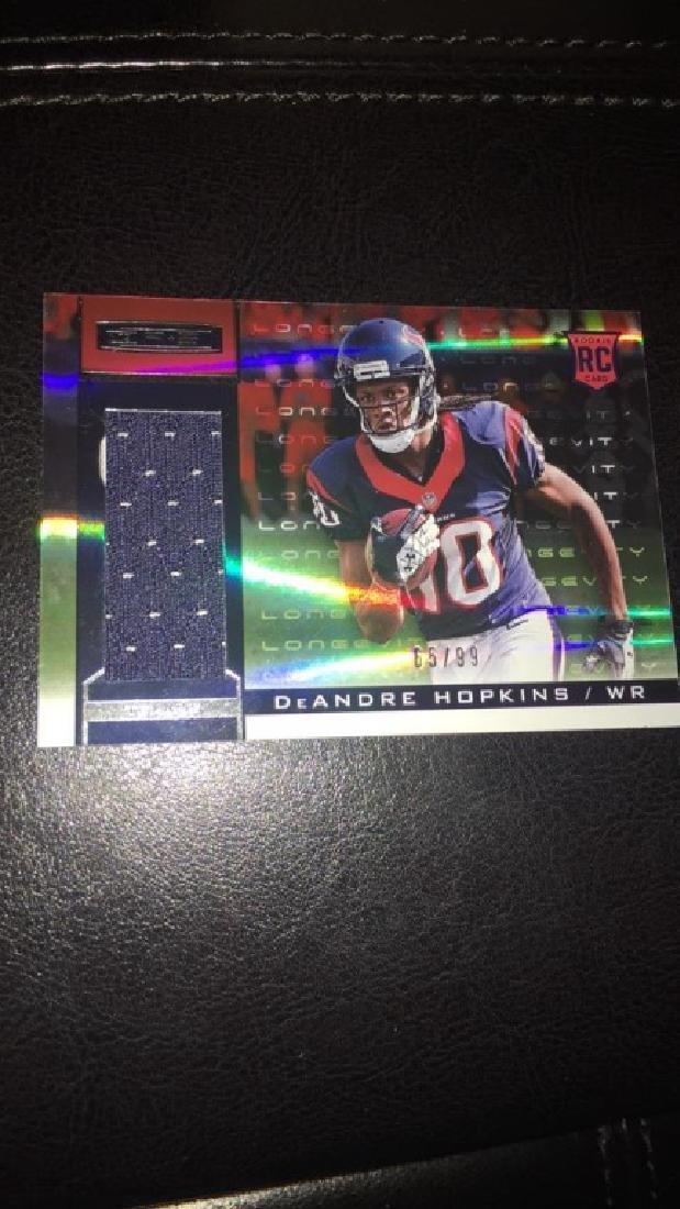 Deandre Hopkins rookie stars patch /99 - 2