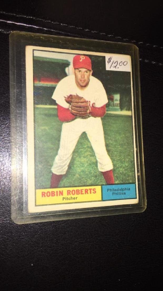 Robin Roberts 1961 Topps