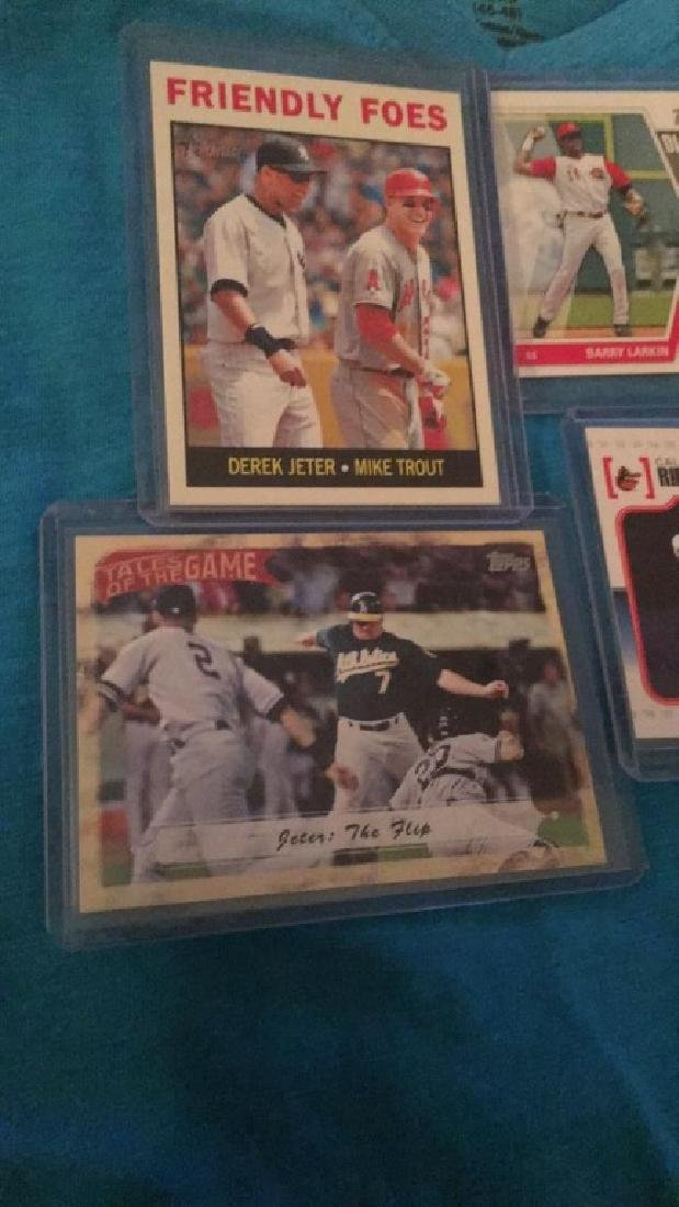 Derek Jeter for card lot with Cal Ripken Mike - 2