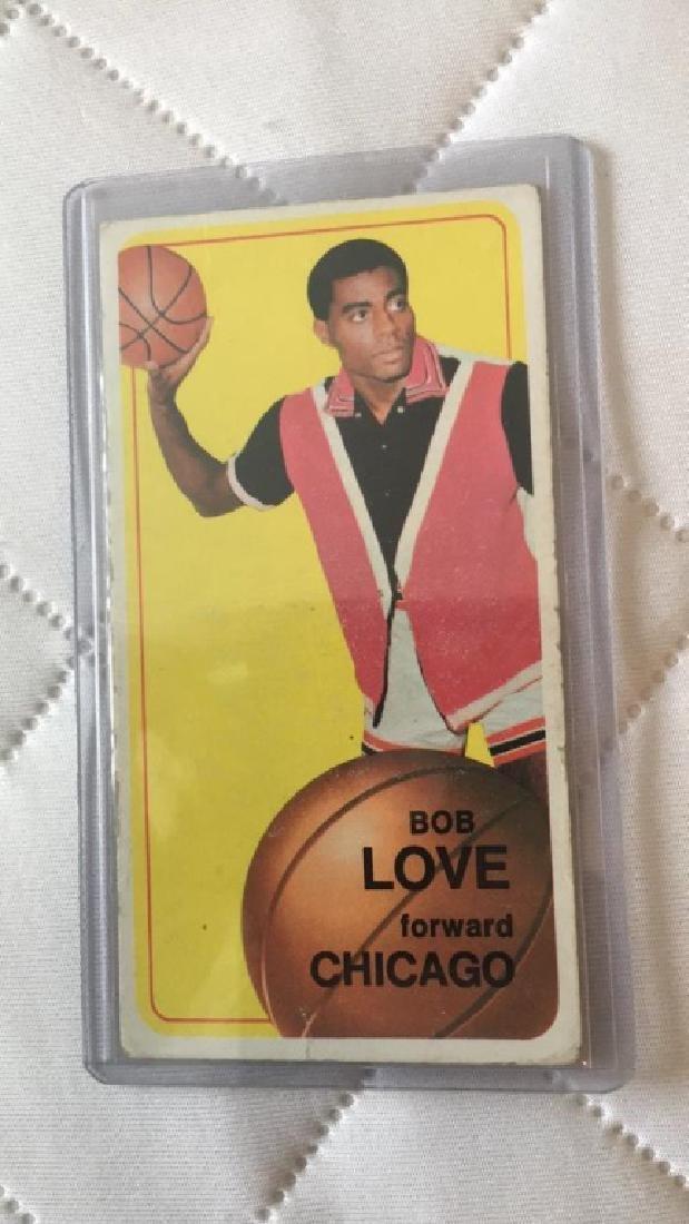 Bob love 1970 Topps RC