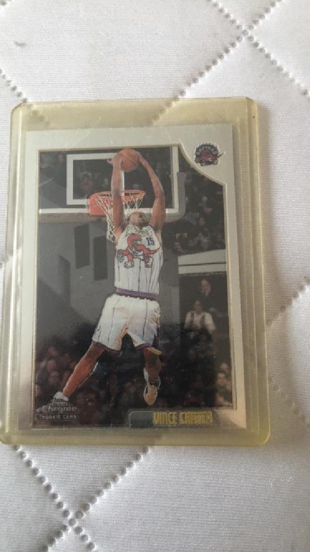 Vince Carter 1998 Topps chrome RC