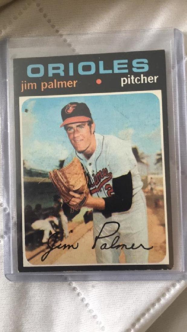 Jim Palmer 1971 Topps
