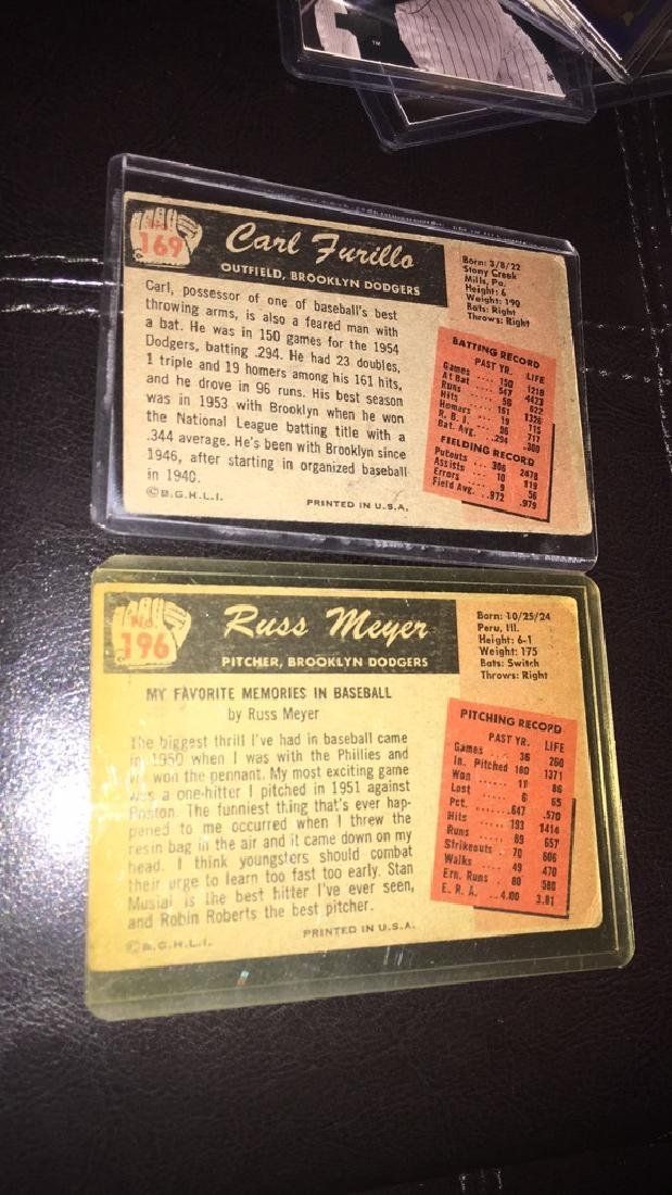 Carl Furillo and Russ Meyer 1955 bowman - 3