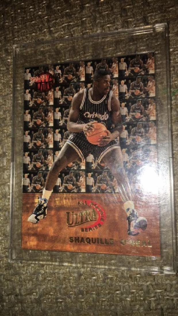 Shaquille O'neal 1992 ultra all rookie team RC
