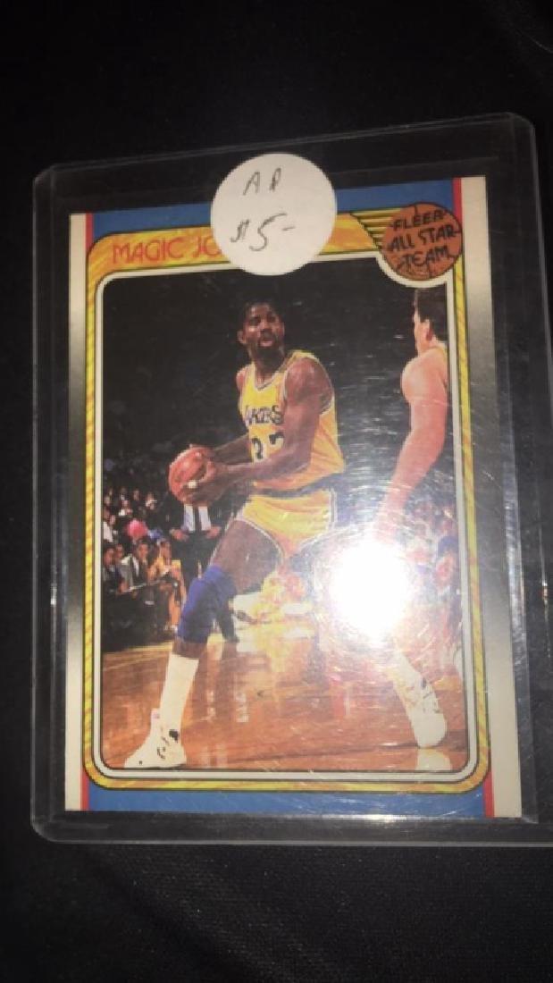 Magic Johnson 1988 fleer all star