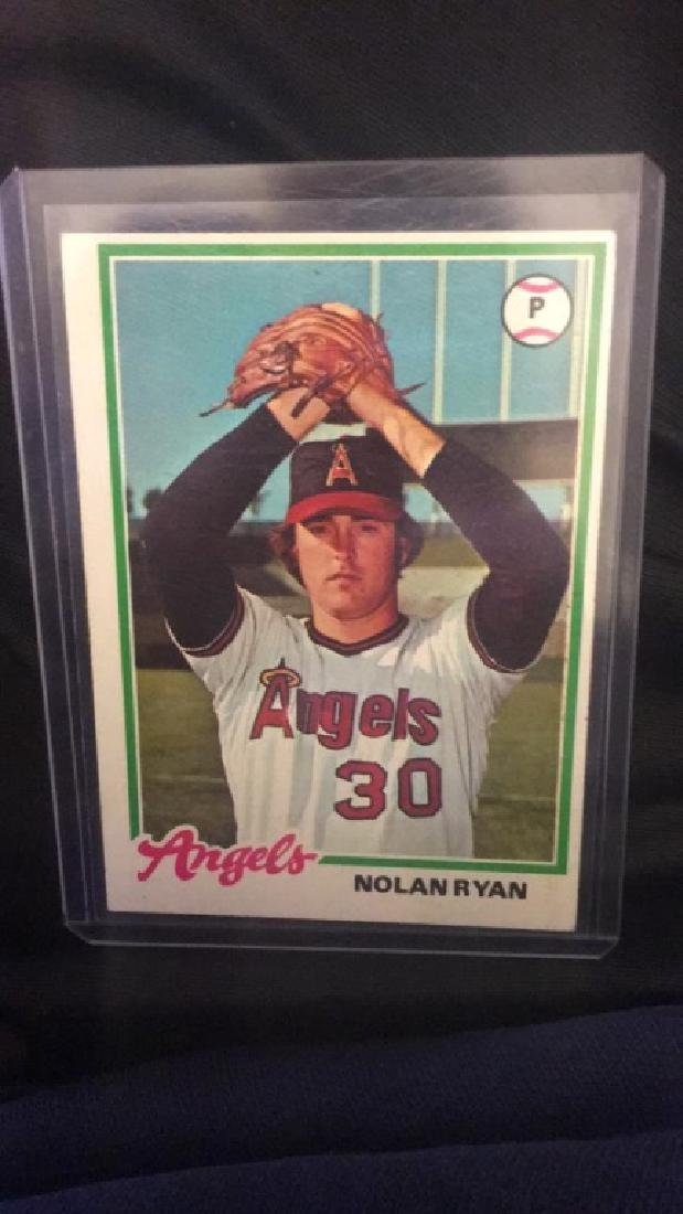 Nolan Ryan 1978 tops