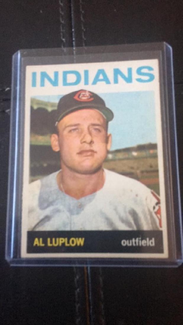 Al Luplow 1963 Topps
