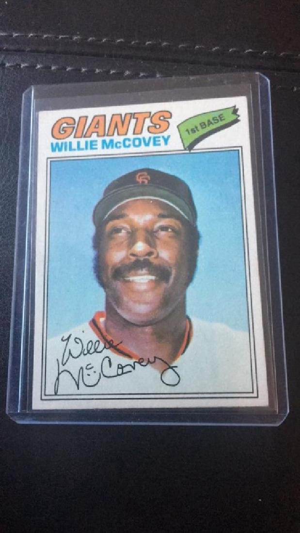 Willie McCovey 1977 Topps