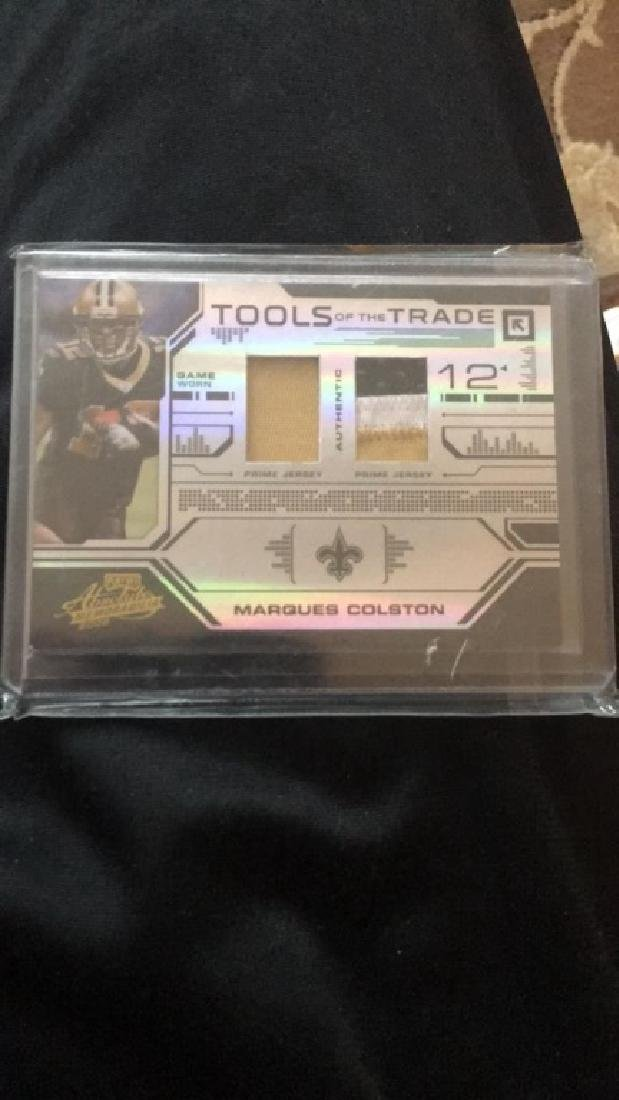 Marques Colston absolute tools of the trade patch