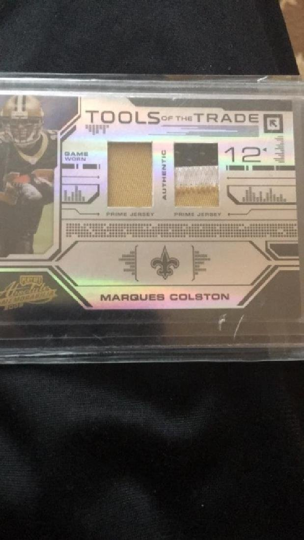 Marques Colston absolute tools of the trade patch - 2