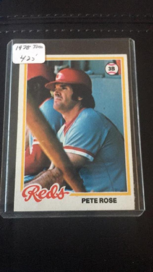 1978 Topps Pete Rose