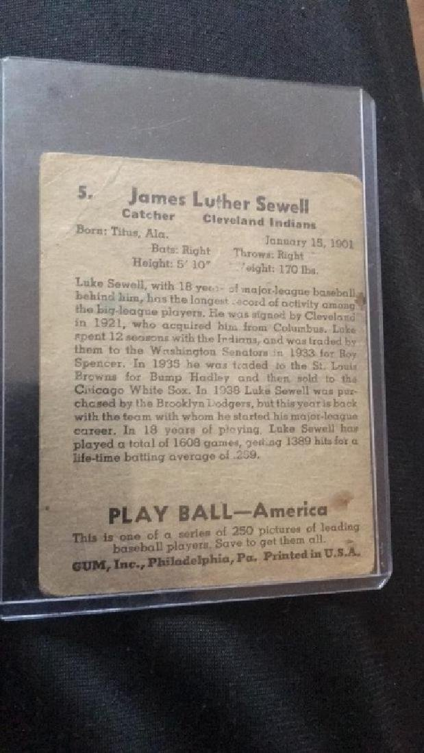 James Luther Seawell 1948 play ball - 2