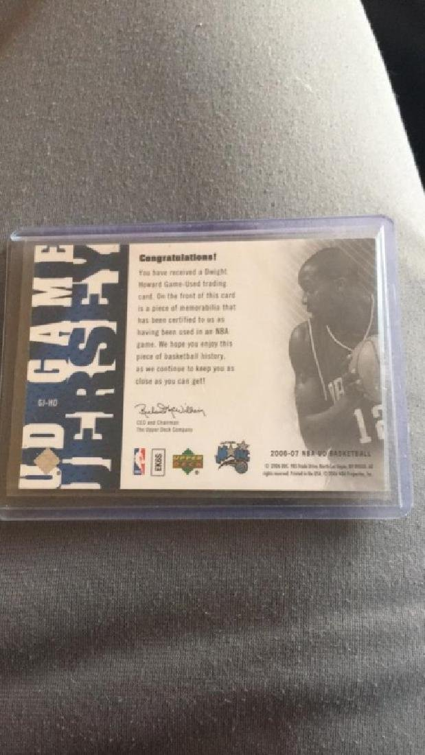 Dwight Howard ud game jersey - 2