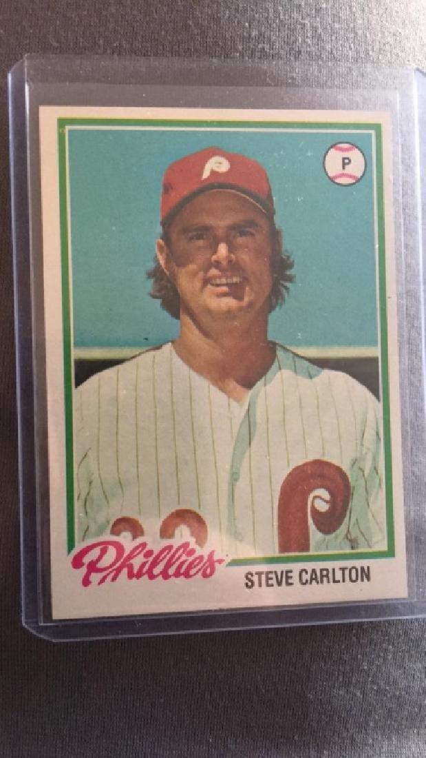 Steve Carlton 1978 Topps