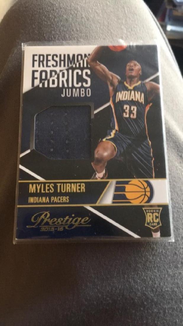 Myles Turner freshman fabric