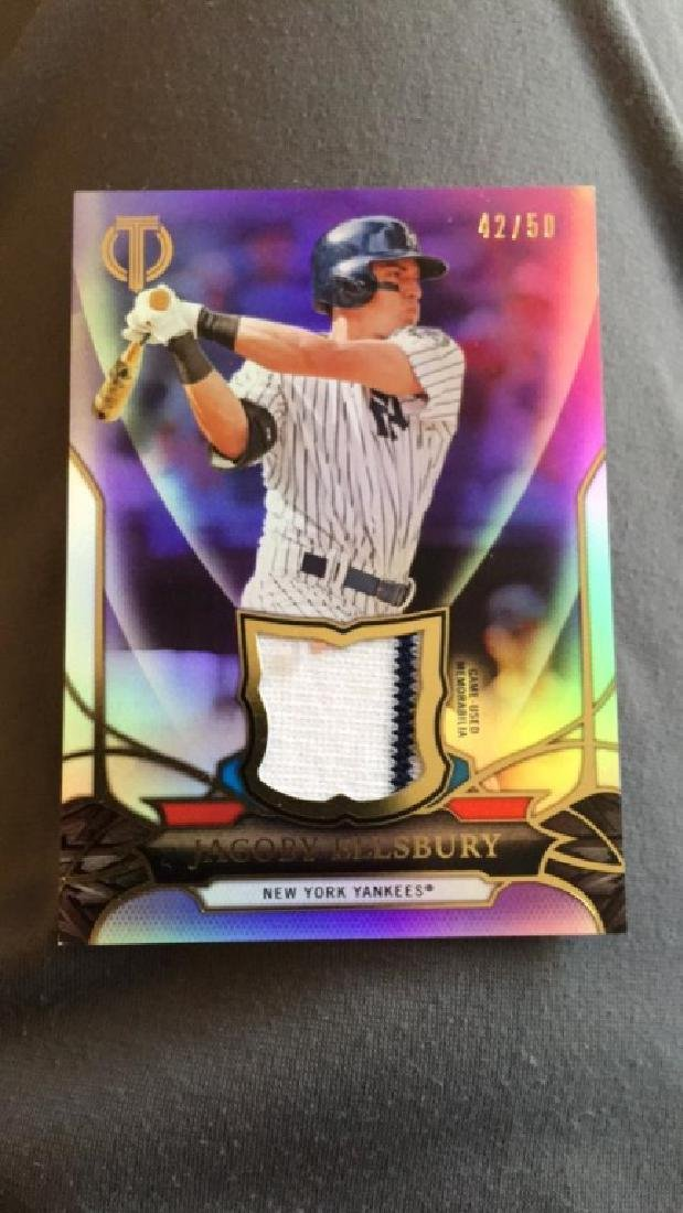 Jacoby Ellsbury 2016 tribute patch /50