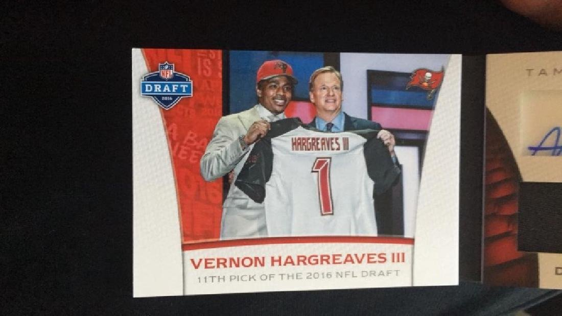 Vernon Hargreaves 2016 Limited booklet auto patch - 2