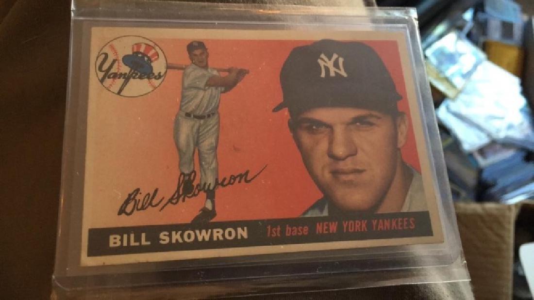 Bill Skowron 1956 Topps nice shape