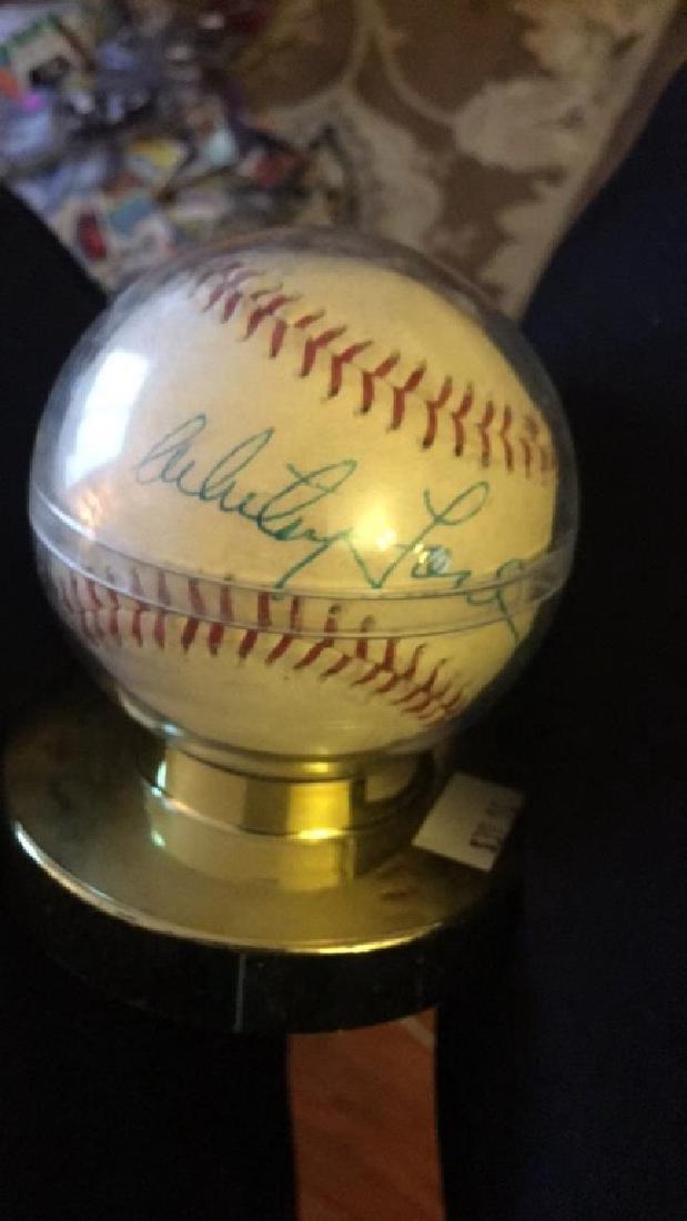 Whitey Ford autograph Baseball