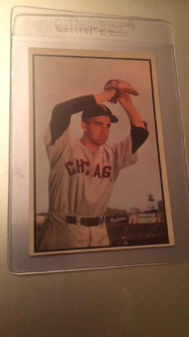 1953 Bowman Color Billy Pierce