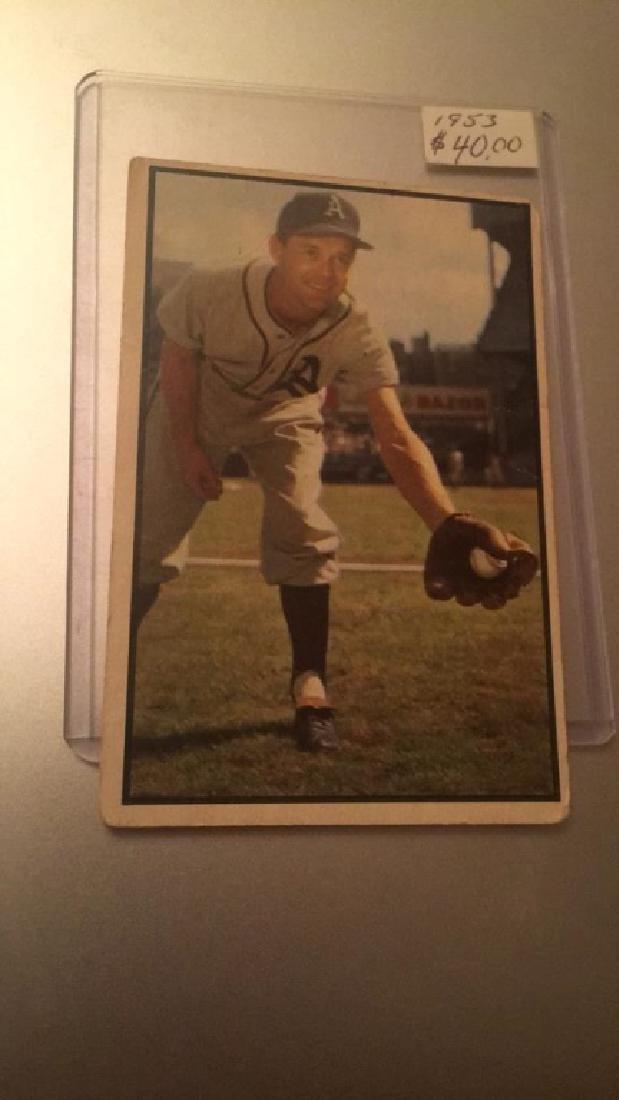1953 Bowman Color Eddie Joost