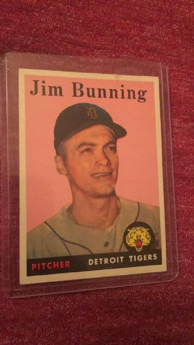 Jim Bunning 1958 Topps