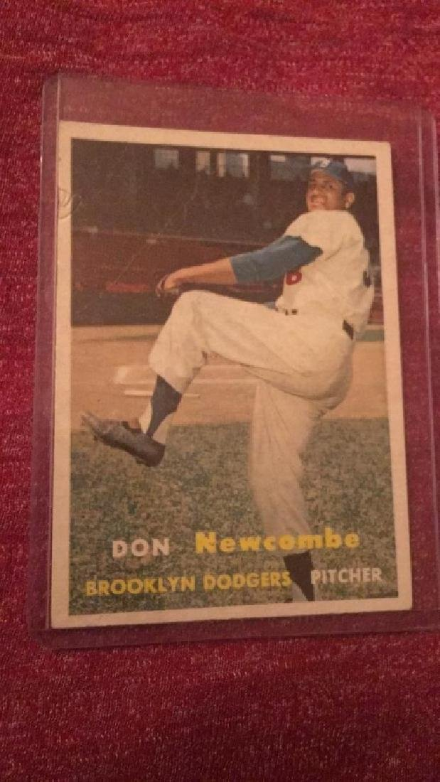 Don Newcombe 1957 Topps