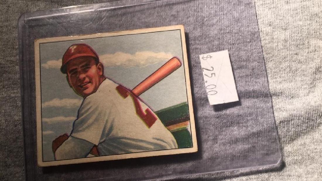 1950 Bowman Andy Seminick
