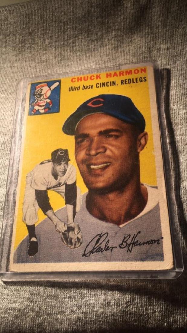 1954 Topps Chuck Harmon
