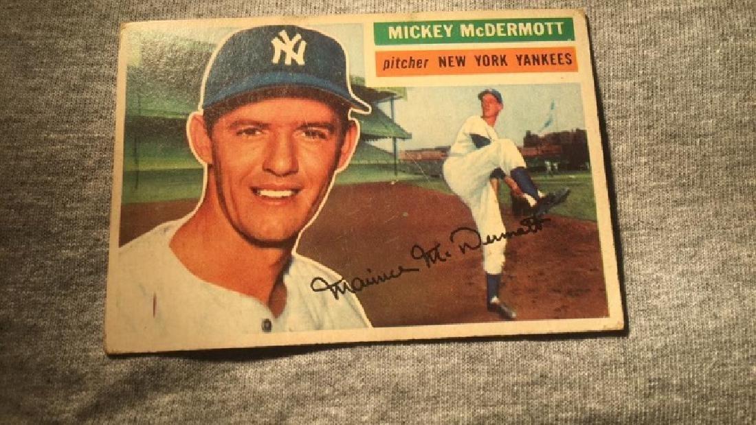 1956 Topps Mickey McDermott