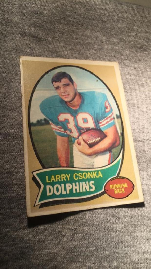 Larry Csonka 1970 Topps